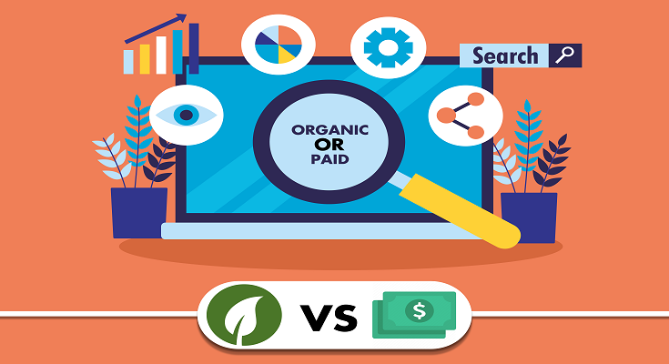 Organic vs Paid SEO